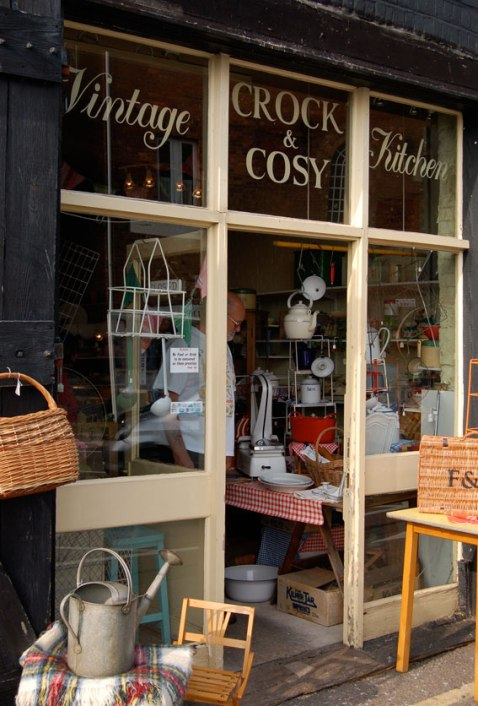the crock and cosy vintage kitchen shop in rye east sussex