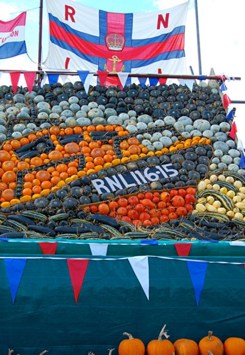 Slindon Pumpkin Festival, Slindon 2015, Slindon Pumpkin and Squashes, Tamar Lifeboat Shoreham, Autumn, Squash, Pumpkins, October,Slindon West Sussex, National Trust Slindon