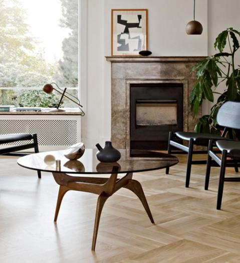 Triiio Coffee Table originally designed by Hans Bølling in 1958.
