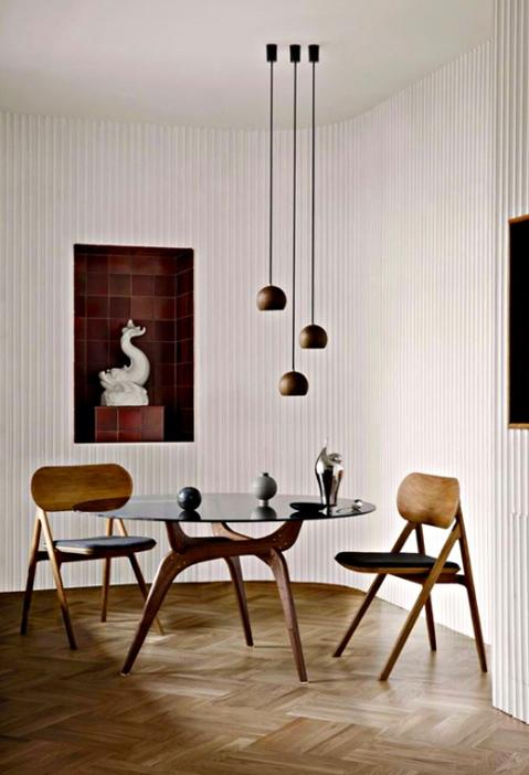 Triiio Dining Table originally designed by Hans Bølling in 1958.