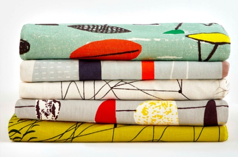 Re-issued textiles by Lucienne Day launched to commemorate the Centenary of her birth.